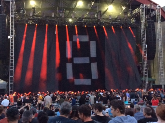 Rammstein NY getting ready (me)
